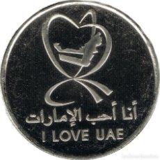 Monedas antiguas de Asia: UAE EMIRATOS ARABES 1 DIRHAM 2015 I LOVE UAE. Lote 209816480