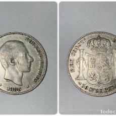 Monedas antiguas de Asia: MONEDA. FILIPINAS. 50 CENTIMOS. 1885. EBC. VER FOTOS. Lote 209916896