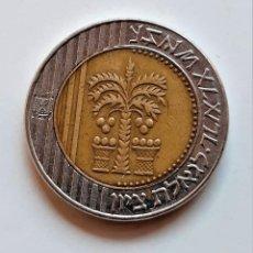 Monedas antiguas de Asia: ISRAEL 10 SHEQALIM ND 1995-2009. Lote 210152190