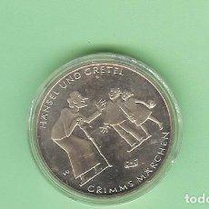 Monedas antiguas de Asia: ALEMANIA. 10 EUROS 2014-G. HANSEL Y GRETEL. CUPRONÍQUEL. KM#328. Lote 210377870