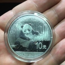Monedas antiguas de Asia: ONZA DE PLATA PANDA 10 YUAN 2014 ENCAPSULADA S C. Lote 244754795