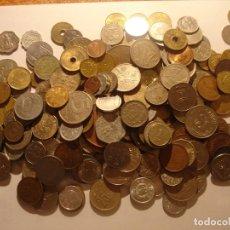 Monedas antiguas de Asia: 900 GRAMOS DE MONEDAS DE PAÍSES DE ASIA, MUY VARIADAS. Lote 213539600