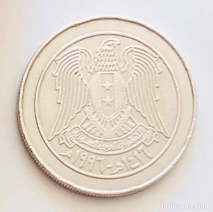 Monedas antiguas de Asia: 10 Liras Siria Ruinas de Palmira UNESCO 1997 - Foto 2 - 213758248