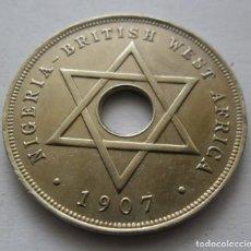 Monedas antiguas de Asia: 990,, RARA Y ESCASA MONEDA DE NIGERIA, AFRICA OCCIDENTAL BRITANICA. 1 PENNY 1907. EDUARDO VII. Lote 213818391