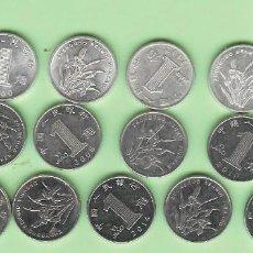 Monedas antiguas de Asia: CHINA. 17 MONEDAS DE 1 JIAO, 17 FECHAS, 2 MODELOS. Lote 213910955