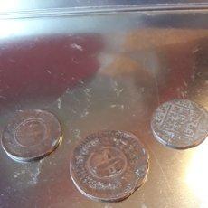 Monedas antiguas de Asia: LOTE MONEDAS ASIÁTICAS ANTIGUAS. Lote 214293012