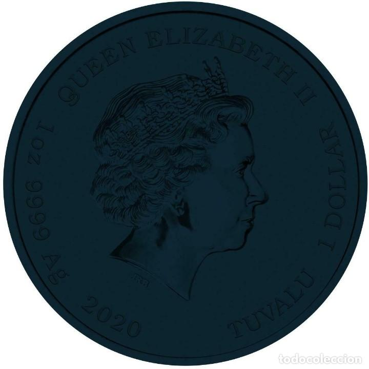 Monedas antiguas de Asia: MONEDA TUVALU 2020 1 $ - JAMES BOND 007 .PLATA 1 ONZA. COLOR EDICION LUJO - Foto 2 - 214631652