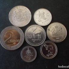 Monedas antiguas de Asia: CONJUNTO DE MONEDAS DE GEORGIA DIFICILES. Lote 215090868