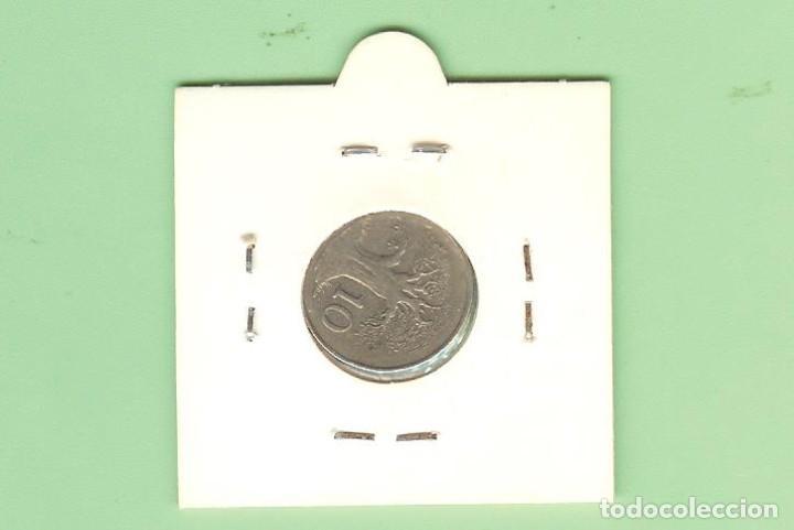 Monedas antiguas de Asia: ZIMBABWE. 10 CENT 1980. CUPRONÍQUEL. KM#3 - Foto 2 - 215147455