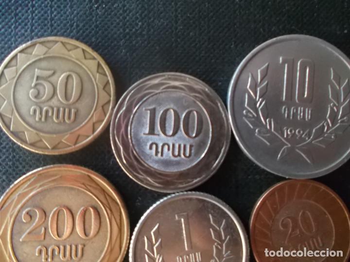 Monedas antiguas de Asia: conjunto de monedas de Armenia - Foto 5 - 198515078