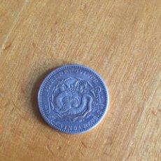 Monedas antiguas de Asia: MONEDA CHINA 7 CAIDARINS (CAINDA RINS) 2 KIRIN PROVINCE. Lote 215716948