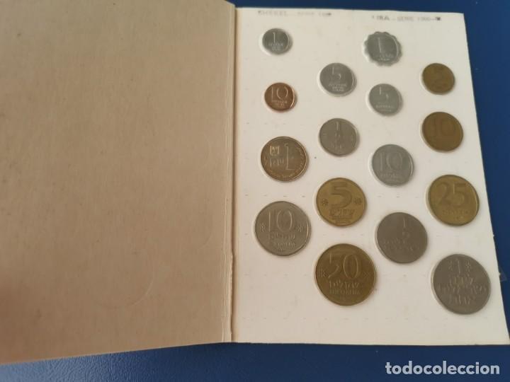 Monedas antiguas de Asia: SOUVENIR 16 MONEDAS ISRAEL.TIERRA SANTA. COIN COLLECTION FROM THE HOLYLAND.MÜNZENSAMMLUNG VON ISRAEL - Foto 2 - 215804242