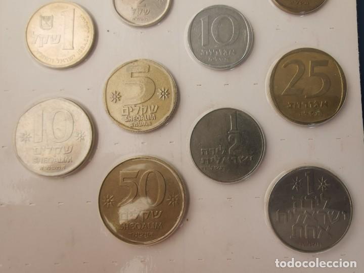 Monedas antiguas de Asia: SOUVENIR 16 MONEDAS ISRAEL.TIERRA SANTA. COIN COLLECTION FROM THE HOLYLAND.MÜNZENSAMMLUNG VON ISRAEL - Foto 4 - 215804242