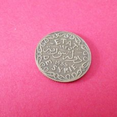 Monedas antiguas de Asia: 5 PIASTRAS DE SIRIA 1935. Lote 217874017