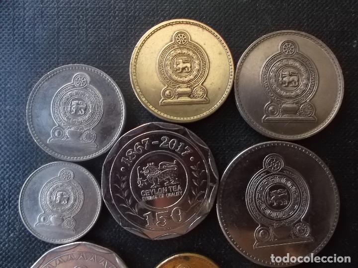 Monedas antiguas de Asia: conjunto de monedas de Sri Lanka una de conmemorativa dificil - Foto 3 - 218191655