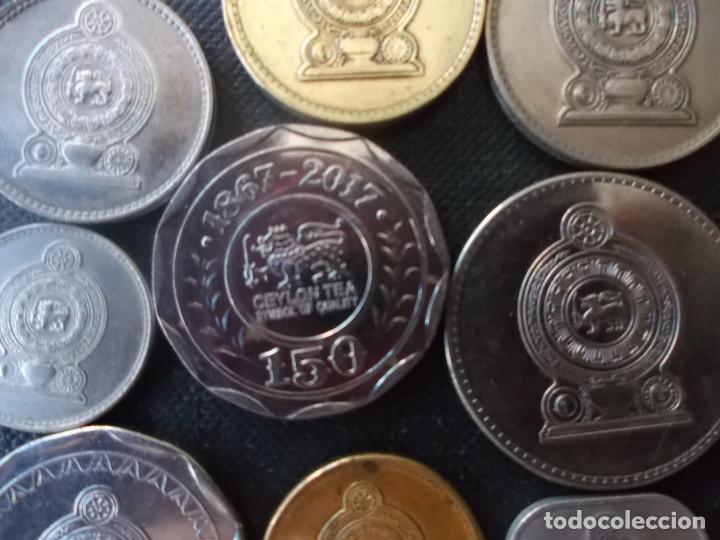 Monedas antiguas de Asia: conjunto de monedas de Sri Lanka una de conmemorativa dificil - Foto 5 - 218191655