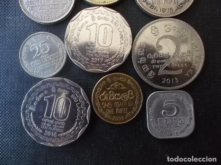 Monedas antiguas de Asia: conjunto de monedas de Sri Lanka una de conmemorativa dificil - Foto 7 - 218191655