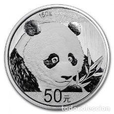 Monedas antiguas de Asia: 2018 CHINA PANDA PLATA CALIDAD PROOF 50 YUANES. Lote 218293903
