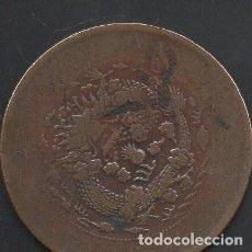 Monedas antiguas de Asia: CHINA, 10 CASH 1920, ESCASA, ALGO DESGASTADA. Lote 218350678