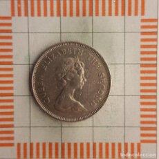 Monedas antiguas de Asia: 1 DOLAR, HONG KONG. ISABEL II, 1980. (KM#43). Lote 218629312