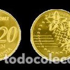 Monedas antiguas de Asia: 20 SEN MALASIA 2015. Lote 218849073