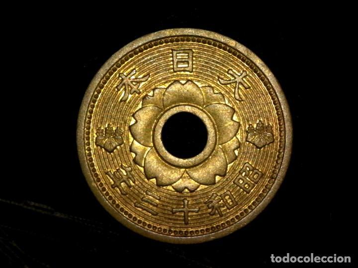 10 SEN 1938 JAPÓN ERA SHOWA (A8) UNC- (Numismática - Extranjeras - Asia)