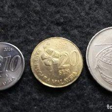 Monedas antiguas de Asia: LOTE DE 3 MONEDAS DE MALASIA (116). Lote 220379462