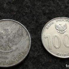 Monedas antiguas de Asia: LOTE DE 2 MONEDAS DE INDONESIA (120). Lote 220381190