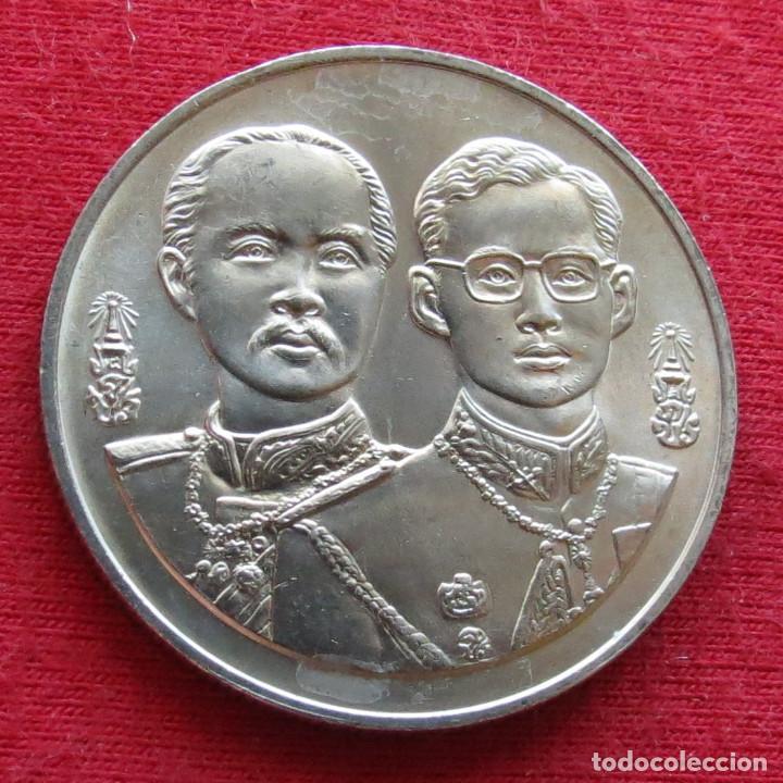 Monedas antiguas de Asia: Tailand Thailand 20 baht 1994 km# 300 Ministerio de Defensa - Foto 2 - 262266045