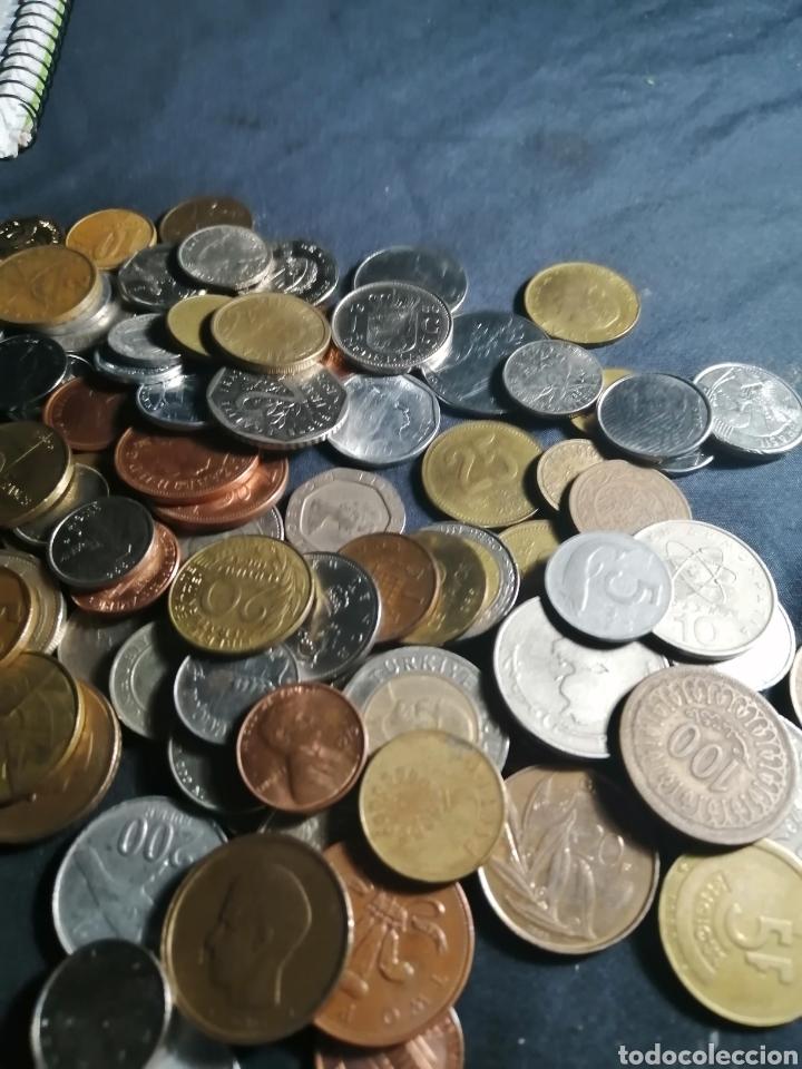 LOTE DE 100 MONEDAS MUNDIALES DE 21 PAISES + REGALO. (Numismática - Extranjeras - Asia)