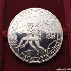 Monedas antiguas de Asia: GEORGIA 20 LARI 2008. Lote 222479110