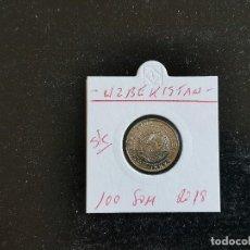 Monedas antiguas de Asia: UZBEKISTAN 100 SOM 2018 S/C. Lote 261994845