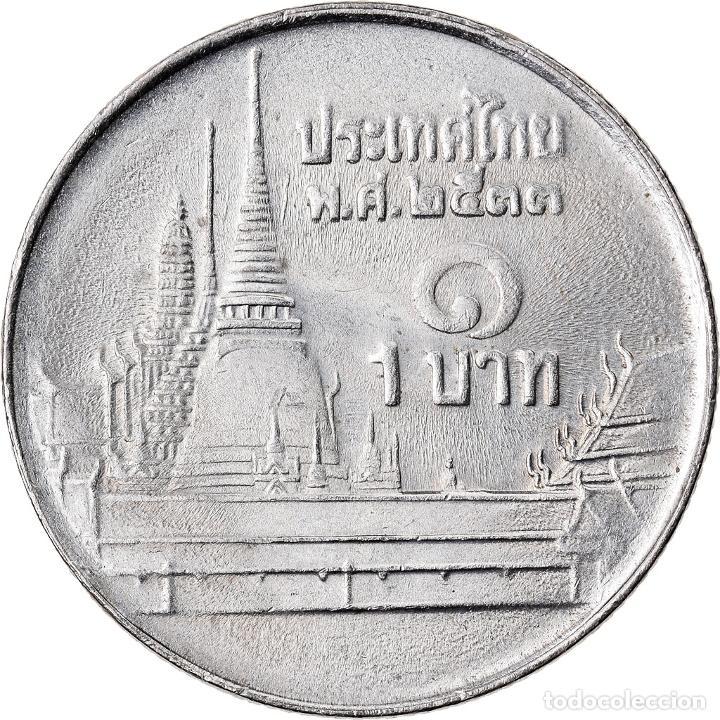 Monedas antiguas de Asia: Moneda, Tailandia, Baht, 2006, MBC+, Cobre - níquel, KM:New - Foto 2 - 222704378