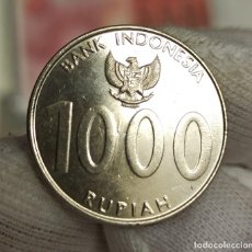 Monedas antiguas de Asia: INDONESIA 1000 RUPIAH THE ANGKLUNG 2010 KM 70 SC- AUNC. Lote 222875076