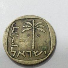 Monedas antiguas de Asia: M-288 MONEDA ISRAEL 10 AGOROT 1962.. Lote 223413228