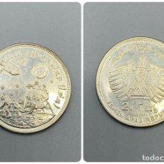 Monedas antiguas de Asia: MONEDA. YEMEN. 2 RIYALS DE PLATA DE 1969. APOLO II. VER FOTOS.. Lote 224150720
