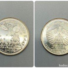 Monedas antiguas de Asia: MONEDA. YEMEN. 2 RIYALS DE PLATA DE 1969. APOLO II. VER FOTOS.. Lote 224150795