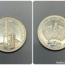 Monedas antiguas de Asia: MONEDA. YEMEN. 2 RIYALS DE PLATA DE 1969. APOLO II EN CABO KENNEDY. VER FOTOS.. Lote 224152317