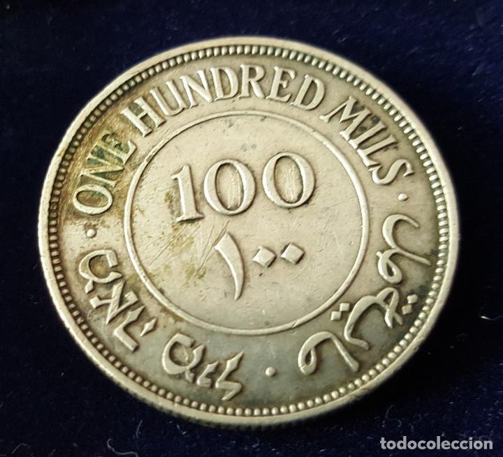 Monedas antiguas de Asia: 100 MILS PALESTINA 1940 PLATA - Foto 2 - 224923257