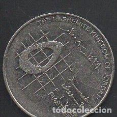 Monedas antiguas de Asia: JORDANIA, 5 PIASTRAS 2008, BC. Lote 225084005