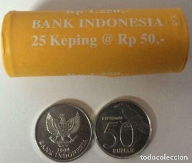MONEDA DE INDONESIA 50 RUPIAS 1999 (Numismática - Extranjeras - Asia)