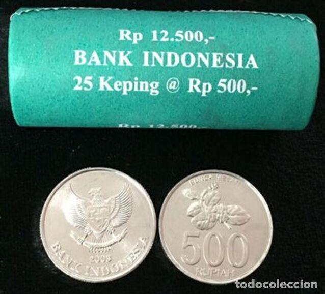 MONEDA DE INDONESIA 500 RUPIAS 2003 DE CARTUCHO S/C (Numismática - Extranjeras - Asia)