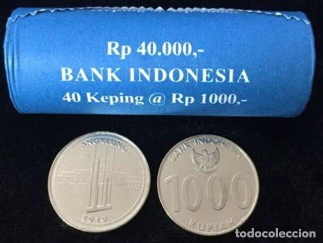 MONEDA DE INDONESIA 1000 RUPIAS 2010 DE CARTUCHO S/C (Numismática - Extranjeras - Asia)