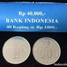 Monnaies anciennes d'Asie: MONEDA DE INDONESIA 1000 RUPIAS 2010 DE CARTUCHO S/C. Lote 225612135