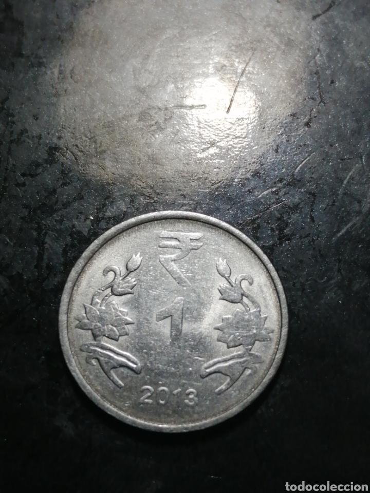 1 RUPEE DEL 2013 INDIA (Numismática - Extranjeras - Asia)