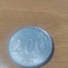 Monedas antiguas de Asia: 200 RUPIAS INDONESIA 2016. Lote 229924200