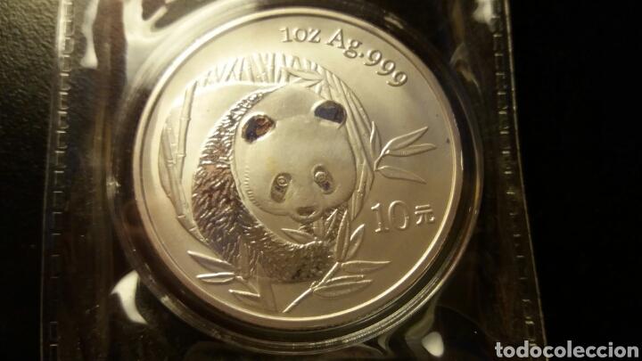 MONEDA DE PLATA CHINA 2003 (Numismática - Extranjeras - Asia)