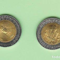 Monedas antiguas de Asia: SAN MARINO. 500 LIRAS 1984 EINSTEIN. BIMETÁLICA. KM#167. Lote 246665965