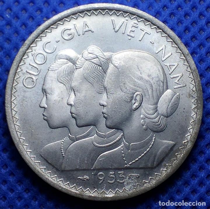VIETNAM 20 SU 1953 (Numismática - Extranjeras - Asia)
