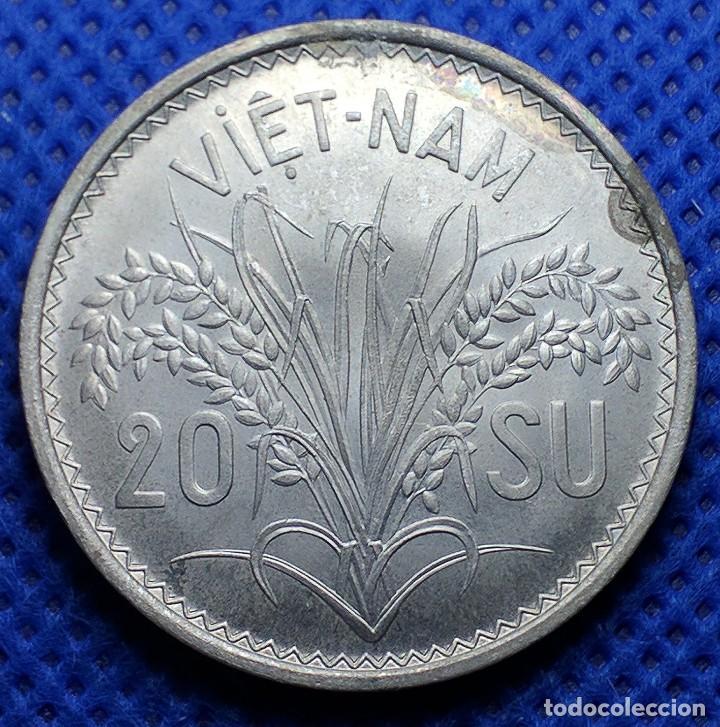 Monedas antiguas de Asia: Vietnam 20 Su 1953 - Foto 2 - 234940685